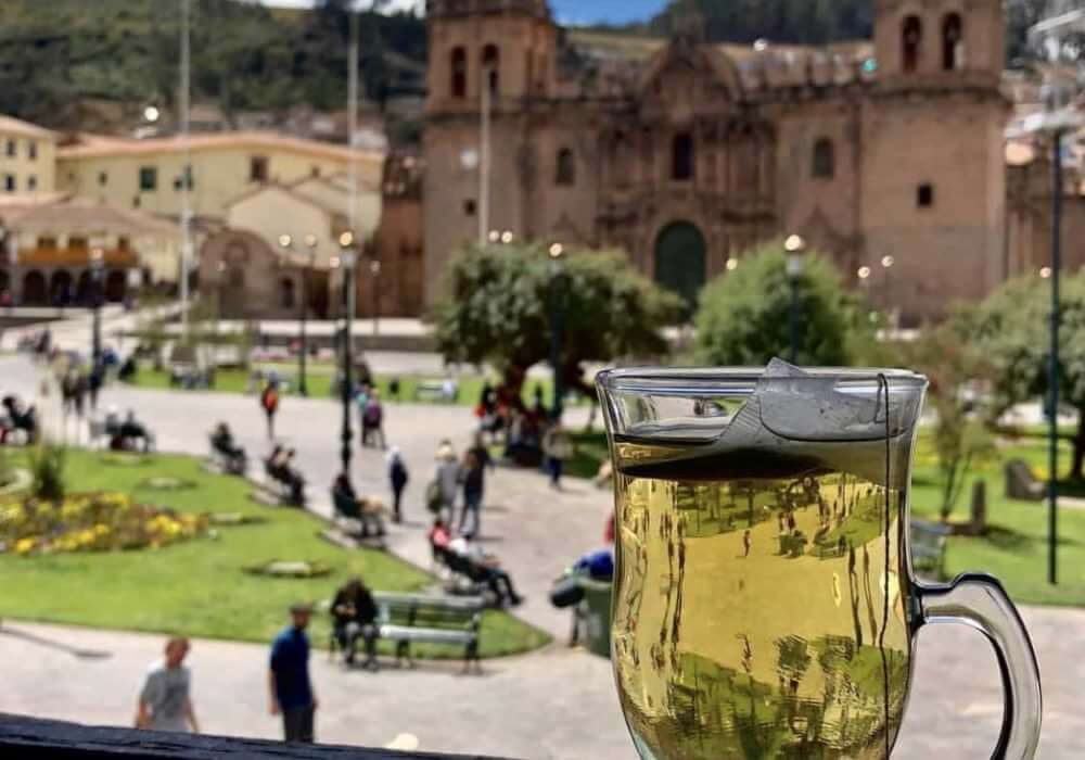 cup of coca tea cusco